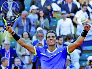 Nadal busca su décimo triunfo en Roland Garros frente al suizo Wawrinka