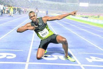 Bolt se despide de Jamaica con una victoria