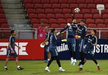 Argentina se mide a Singapur