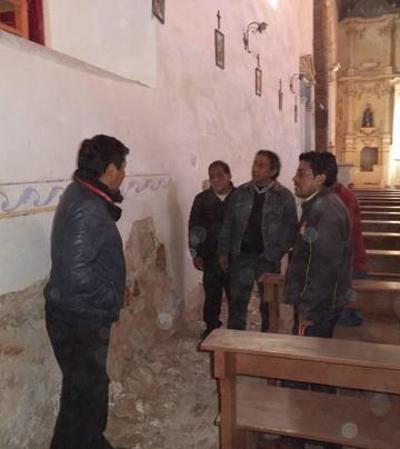 Inicia obras en interior del templo San Juan de Dios