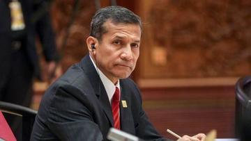 El Congreso de Perú acusará a Humala por tráfico de influencias
