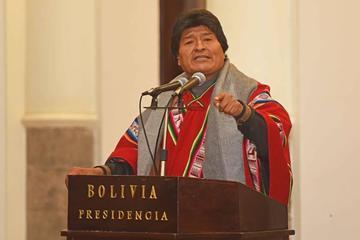 El presidente Morales cree que buscan el fracaso de la nacionalización