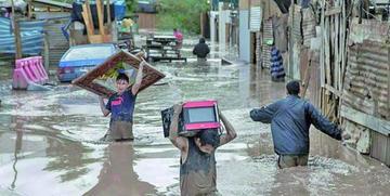 Fuertes lluvias en Chile dejan cuatro fallecidos y 3.000 damnificados