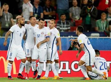 Alexis Sánchez y Vidal dan la victoria a Chile