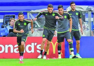 Osorio cree que México puede ganar a Nueva Zelanda
