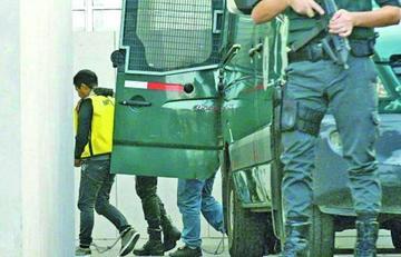 Los 9 bolivianos detenidos en Chile ratifican hoy su inocencia