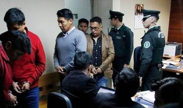 Justicia chilena sentencia hoy a los 9 bolivianos detenidos