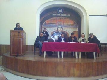 Los alcaldes de Potosí debaten una propuesta respecto al pacto fiscal