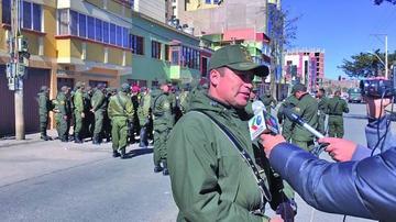 Efectivos se preparán para parada policial