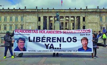 Mando del ELN anuncia libertad de dos periodistas secuestrados