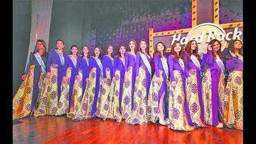 Son 24 candidatas por el Miss Bolivia