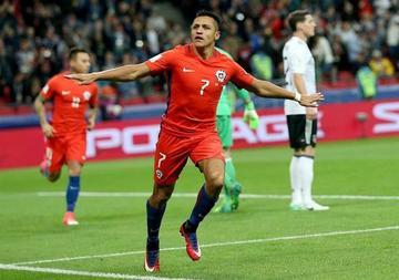 Alemania sufre para empatar a Chile