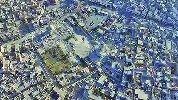 Un barrio en Mosul se convierte en un cementerio por combates