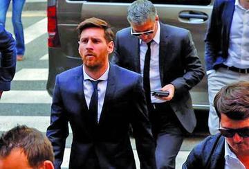 Fiscalía acepta que Messi pague una multa para evitar la cárcel