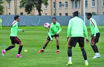 Portugal quiere acabar primero en el Grupo A