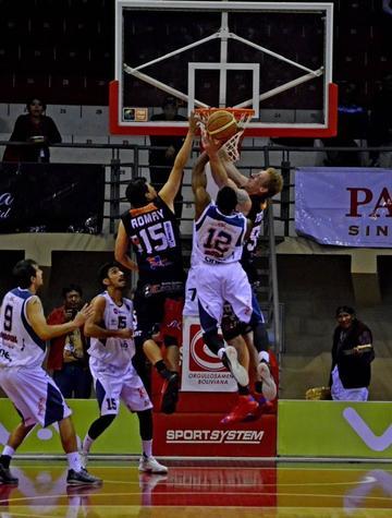 Pichincha cae 89 a 94 en su visita a La Salle de Tarija