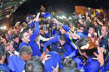 Boca Juniors festeja su título con una victoria