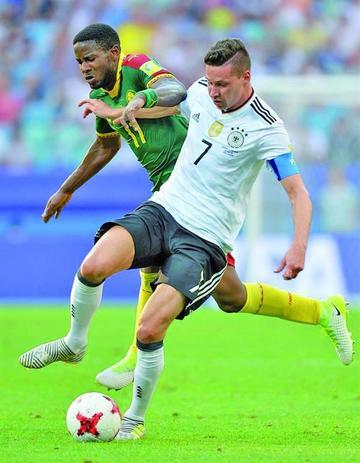 Alemania gana y se clasifica a las semifinales