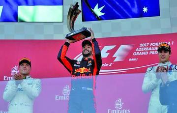 Ricciardo gana el GP de Azerbaiyán