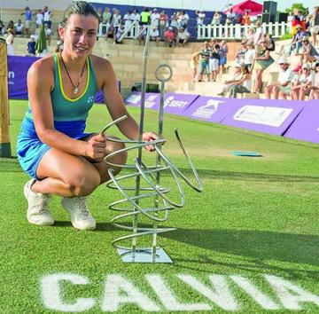 Sevastova gana el Mallorca Open al derrotar a Goerges en la final