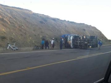 Policía reporta cuatro accidentes en carretera