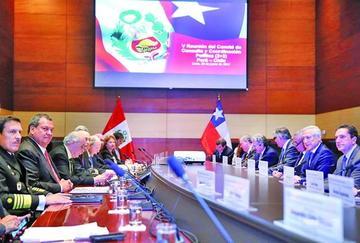 Ministros de Perú y Chile destacan diálogo binacional