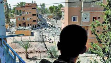 ONU dice que hay miles de atrapados en ciudad de Siria