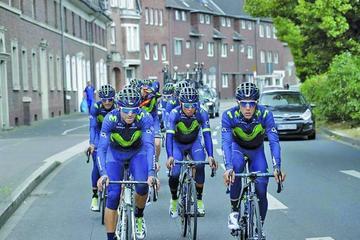 Quintana lidera el equipo de Colombia en el Tour de Francia