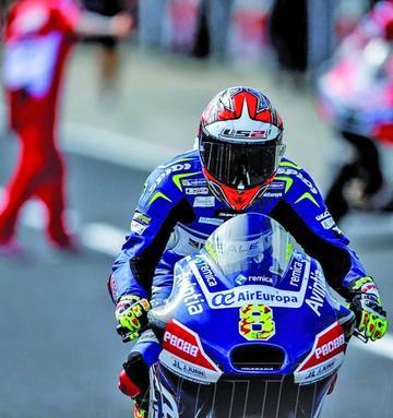 Barberá es el más rápido en los entrenamientos libres de MotoGP