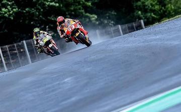 Márquez recupera el liderato en el Gran Premio de Alemania de MotoGP