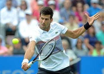 Djokovic se pone a punto para Wimbledon