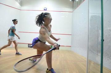 Bolivia cuenta con equipo de squash