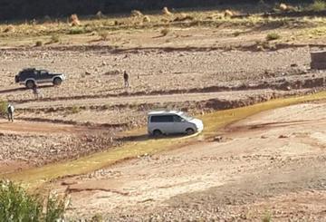 """Incautan auto """"chuto"""" a efectivo policial en el municipio de Llallagua"""