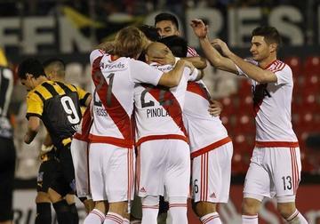 River Plate se impone a Guaraní