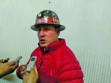 Mineros asalariados rechazan la refundación de la Comibol