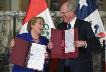 Perú y Chile lideran el primer gabinete binacional en Lima