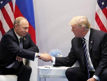 Trump y Putin acuerdan tregua para Siria en primer encuentro