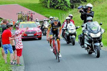 Calmejane logra una heroica victoria en la octava etapa del Tour de Francia