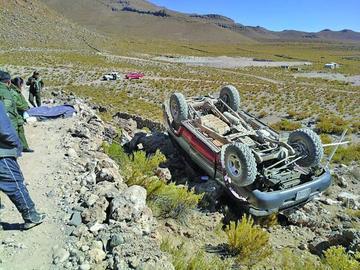 Mueren dos turistas en un accidente vial en el Salar de Uyuni