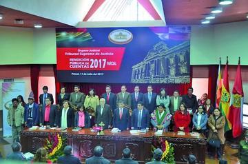 Tribunal Supremo logra establecer una nueva justicia en Bolivia