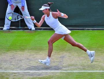 Garbiñe Muguruza derrota a Svetlana Kuznetsova y se coloca en semifinales