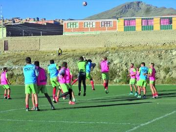 Nacional Potosí apuesta a ganar a Estudiantes de la Plata