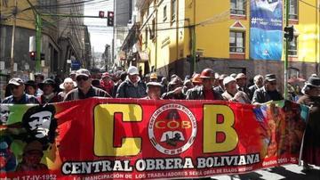 La COB radicalizará sus medidas si el Gobierno no atiende sus pedidos