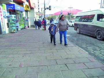 El Sedes declara alerta por el descenso de las temperaturas en Potosí