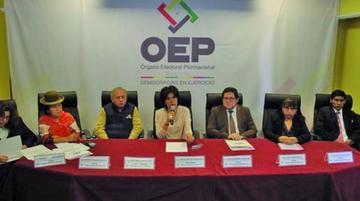 Katia Uriona es ratificada como presidenta del Tribunal Electoral