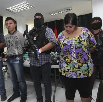 Juez envía a Palmasola a los 2 detenidos por atraco a joyería