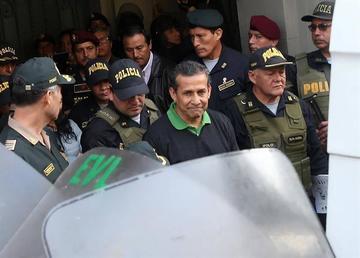 Expresidente Humala está en la misma cárcel de Fujimori en Perú