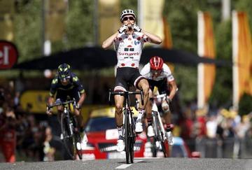 Barguil gana la decimotercera etapa