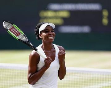 Venus Williams busca su sexta corona de Wimbledon a sus 37 años