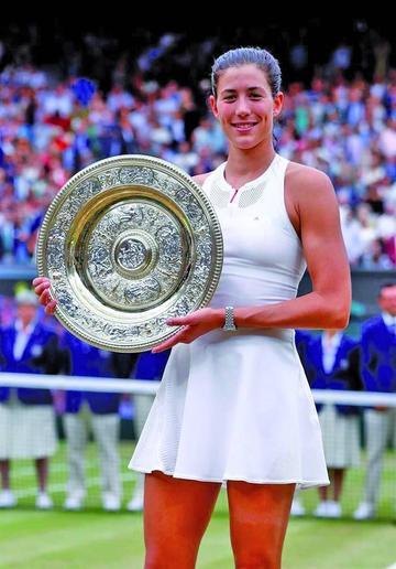Garbiñe Muguruza logra el título en Wimbledon